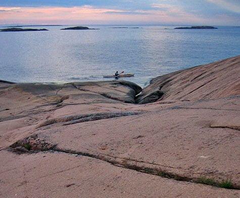 Vid Saggö öns nordvästspets