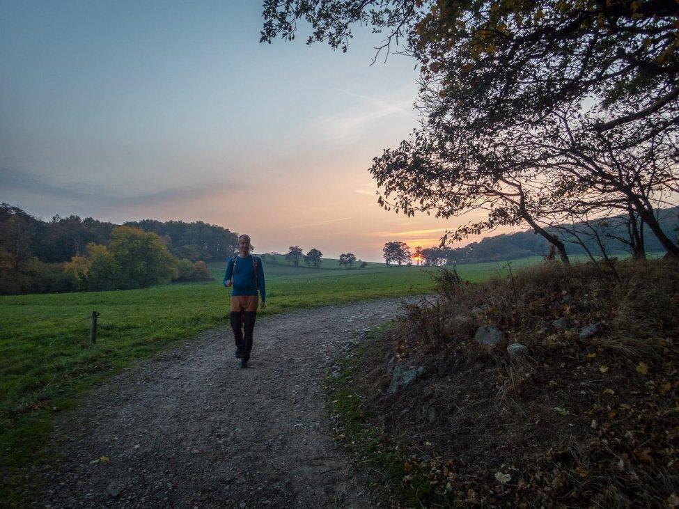 Snart i Arild, solen börjar krypa ner bakom horisontenSnart i Arild, solen börjar krypa ner bakom horisonten