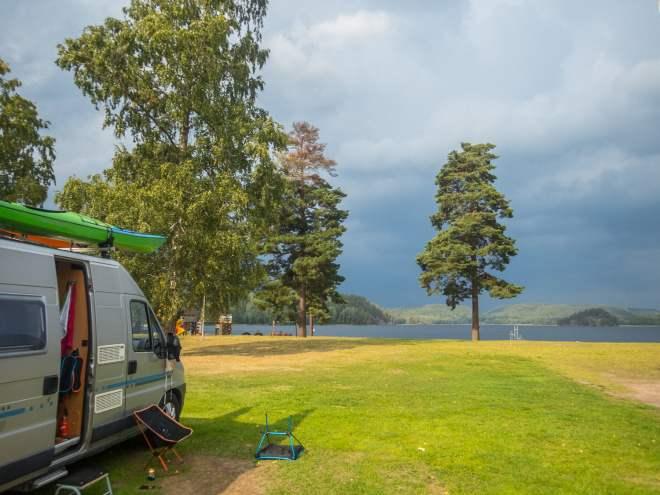 Pinnarp camping - sjönära