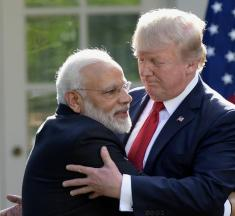The Performance of a Loving Alliance Between Trump and Modi Terrifies Me in the Same Way Most of My Romantic Encounters Do