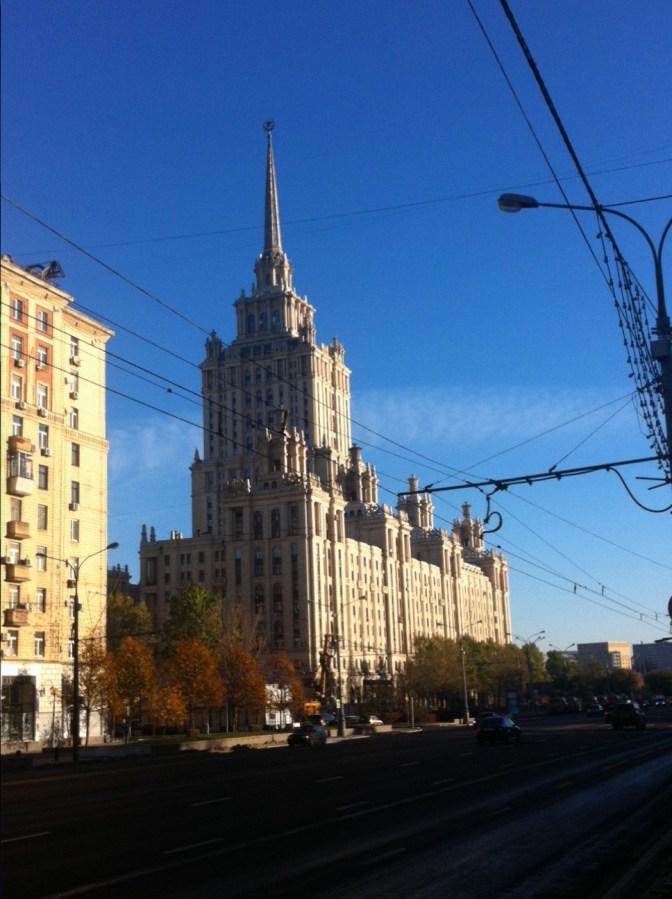Moskau, Hotel Ukraina Oktober 2014