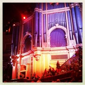 London, Royal Albert Hall. November 2014