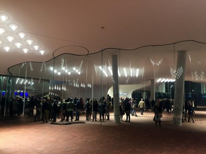Elbphilharmonie Plaza Balkon kakakiri