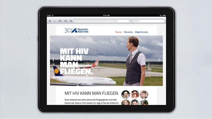 Kakoii Berlin Werbeagentur Deutsche AIDS-Hilfe. Web.