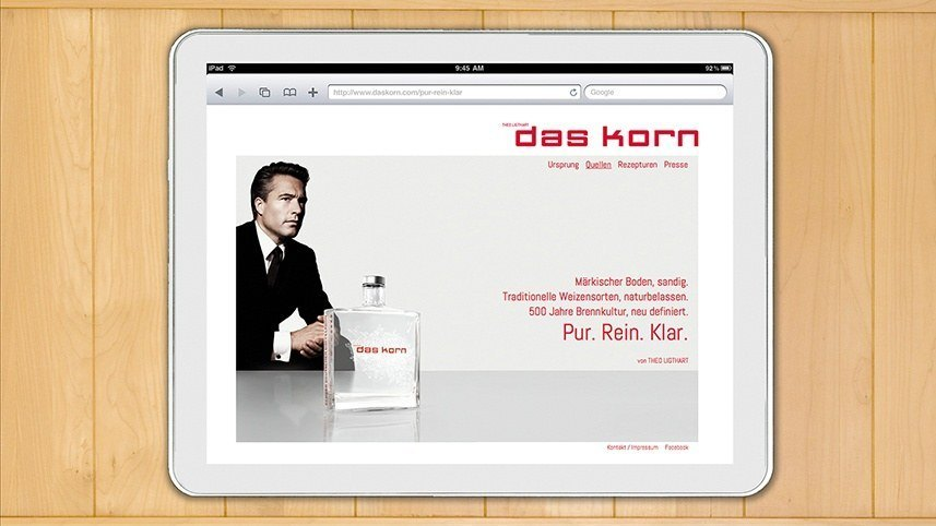 Kakoii Berlin Werbeagentur Das Korn. Corporate Design.