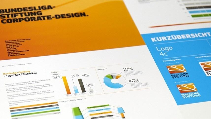 kakoii Berlin Werbeagentur - Bundesliga-Stiftung. Corporate Design.