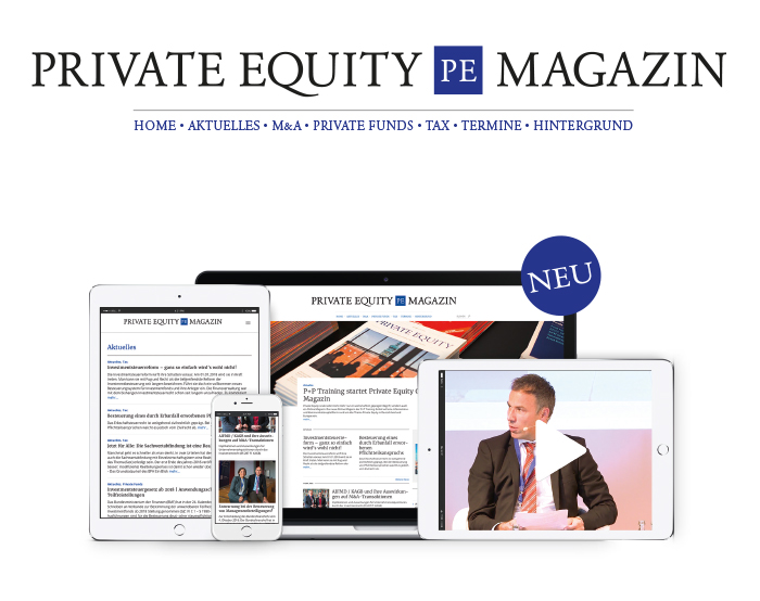 Launch Online-Magazin zum Thema Private Equity