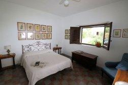Schlafzimmer Kalabrien Ferienhaus