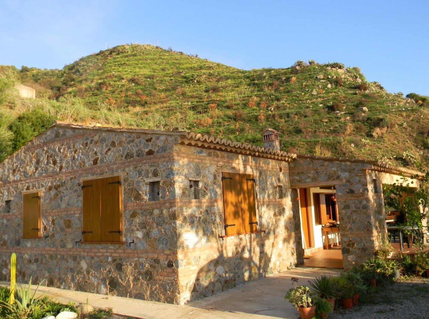 Außenansicht auf Casa Lorenza Kalabrien