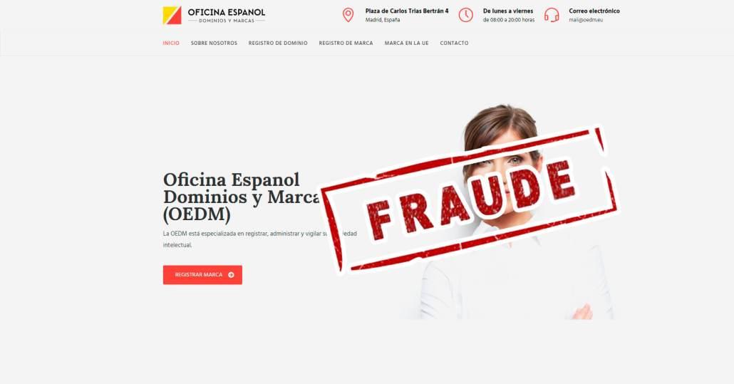ATENCION fraude dominios .eu
