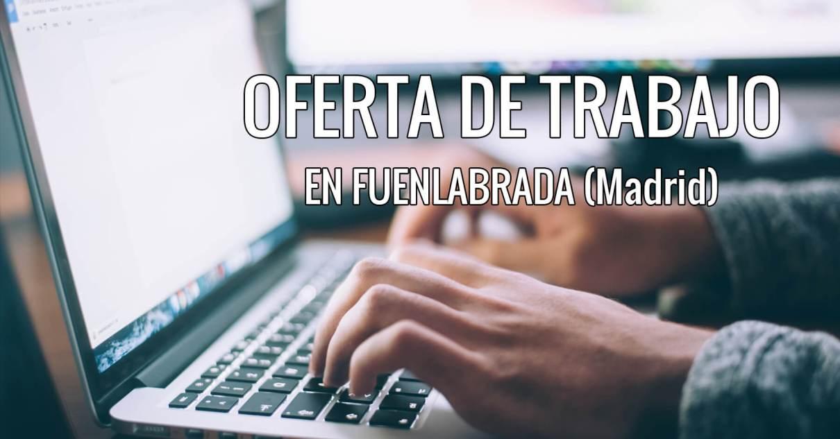 Oferta De Trabajo En Fuenlabrada Madrid Kaladrian Studio