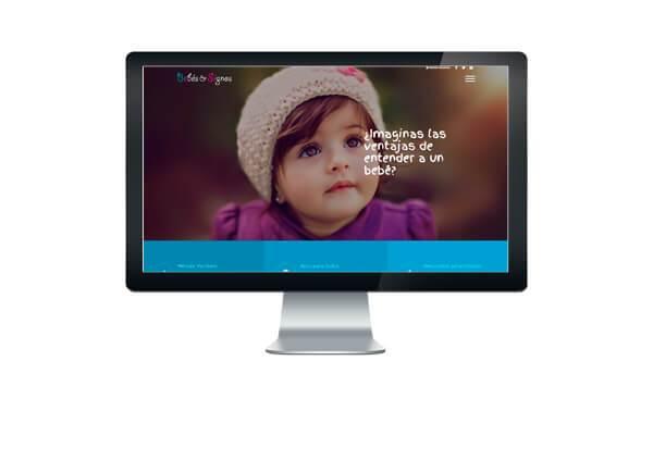 Página web bebés y signos