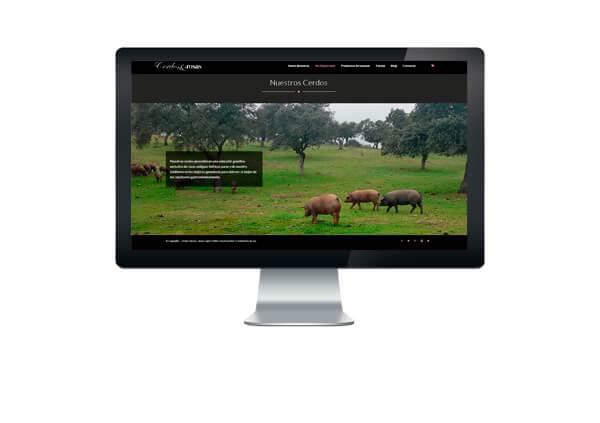 Tienda Online Cerdos y Rosas