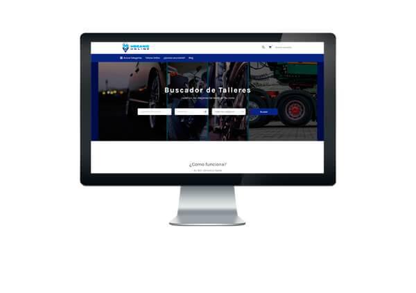 Página web de Mecanic Online
