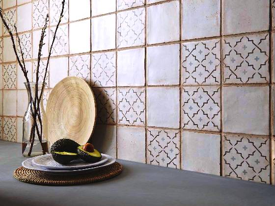 kitchen floor tile designs stand alone cabinet sydney tiles moroccan artisan encaustic look reproduction ...