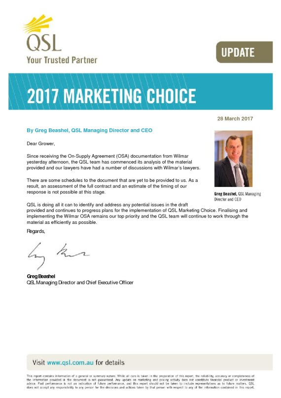 thumbnail of Marketing Choice Update – 28 March 2017_0