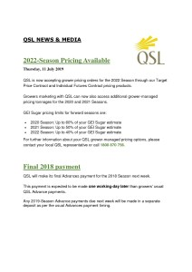 thumbnail of QSL NEWS & MEDIA – 2022 Pricing & Final Payment
