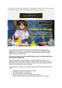 thumbnail of ChemWatch – Chemical Storage Flyer