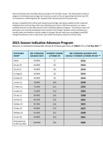 thumbnail of QSL advances program for the 2021 season