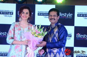Taapsee Pannu as Brand Ambassador of Melange by Lifestyle (10)