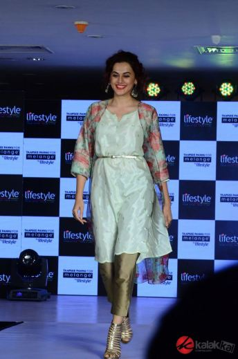 Taapsee Pannu as Brand Ambassador of Melange by Lifestyle (5)