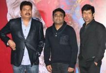 Dhruv With Rahman and Shankar Son