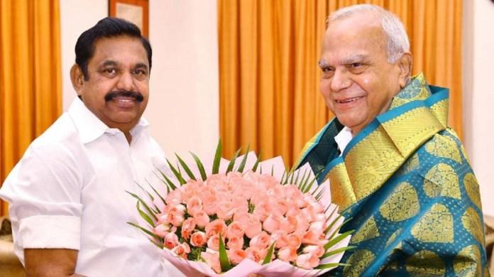 Governor Wishes to Edappadi K Palanisamy