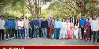 Suriya 40 shoot begins