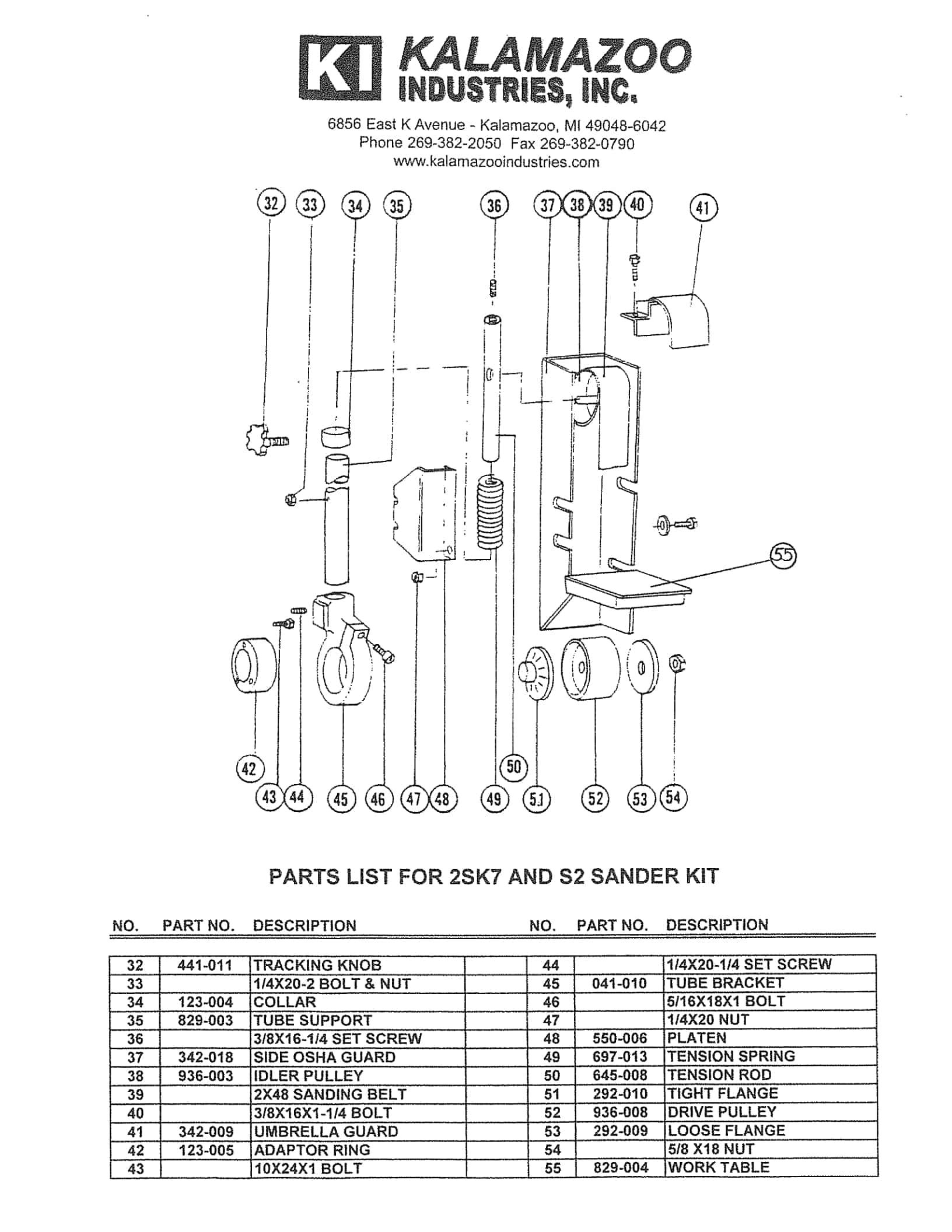 Kalamazoo Industries 2sk7 7 Inch Multi Position