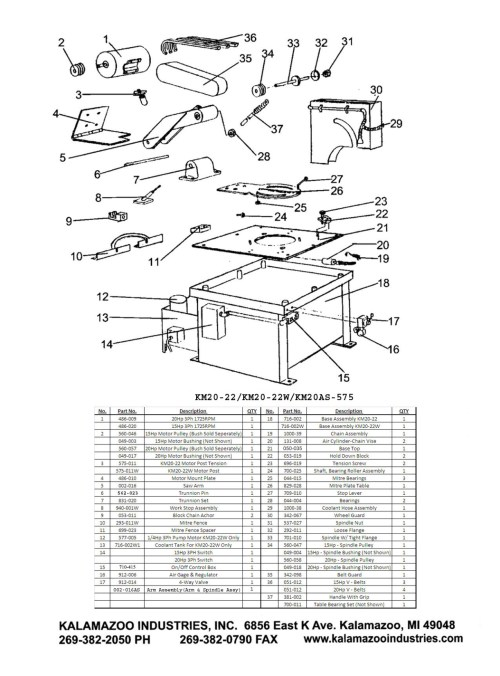 small resolution of km20 22 20 inch industrial abrasive mitre saw parts list mitre saw saw