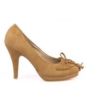 reducere Pantofi dama camel Hayden, cel mai mic pret