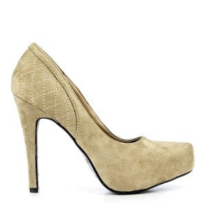 reducere Pantofi dama Lidiana bej, cel mai mic pret