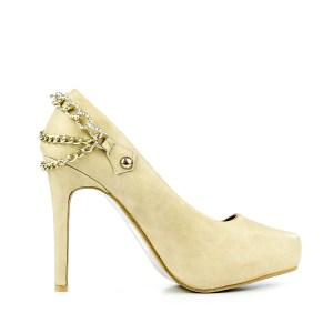 reducere Pantofi dama Lupita bej, cel mai mic pret