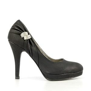 reducere Pantofi dama Florenta negri, cel mai mic pret