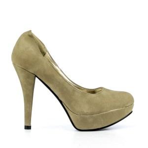 reducere Pantofi dama Efrat khaki, cel mai mic pret