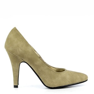 reducere Pantofi dama Ginger 1 khaki, cel mai mic pret