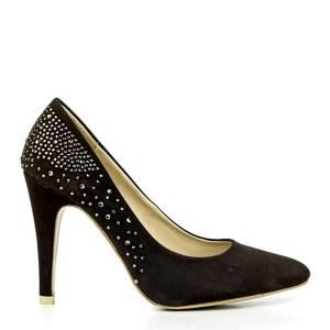 reducere Pantofi dama Clother maro, cel mai mic pret