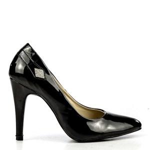 reducere Pantofi dama Larisa negri, cel mai mic pret