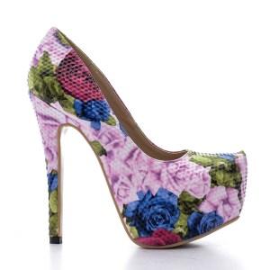 reducere Pantofi dama Kerry 2 albastri, cel mai mic pret