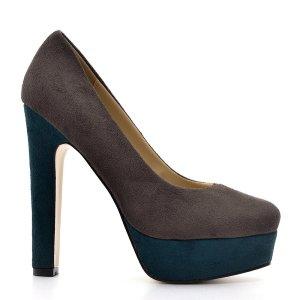 reducere Pantofi dama Leonie gri, cel mai mic pret