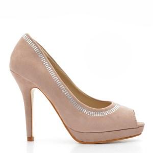 reducere Pantofi dama Pierce 2 khaki, cel mai mic pret
