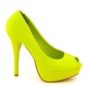 reducere Pantofi dama Kimmy galbeni, cel mai mic pret