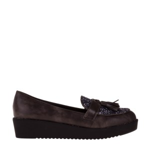 reducere Pantofi dama May gri, cel mai mic pret