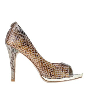 reducere Pantofi dama Bria aurii, cel mai mic pret