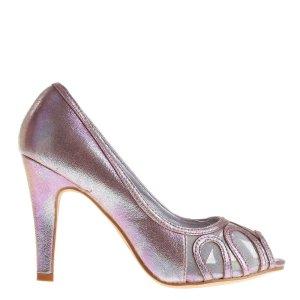 reducere Pantofi dama Eris argintii, cel mai mic pret