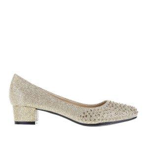 reducere Pantofi dama ML5 aurii, cel mai mic pret