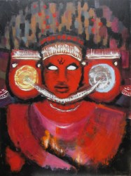 Lilliane Gosling – The Ritual of Theyyam Exhibition