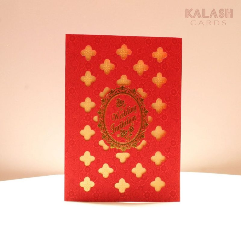 KL010043 WEDDING INVITATION CARD 1