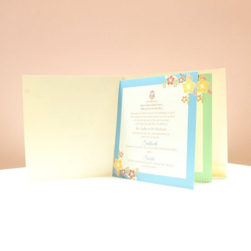 KL2008S1L WEDDING INVITATION CARD 2