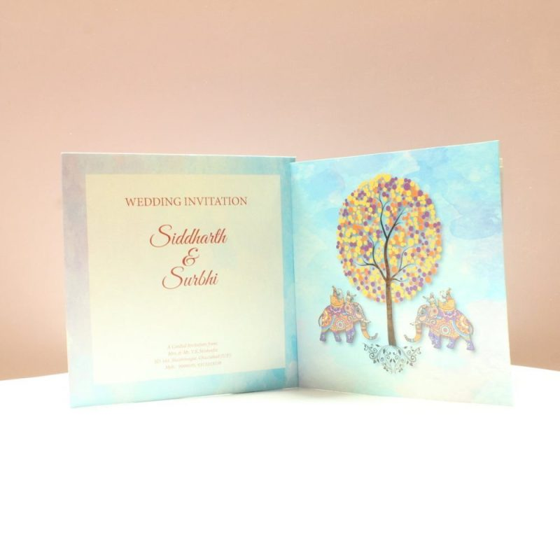 KL2065S1L WEDDING INVITATION CARD 3